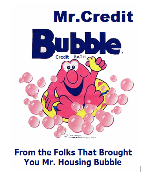 Mr. Credit Bubble